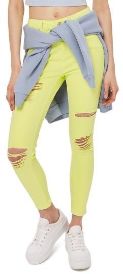 TopshopWomen's Topshop Jamie Ripped Skinny Jeans