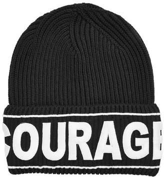 Versace Virgin Wool Hat