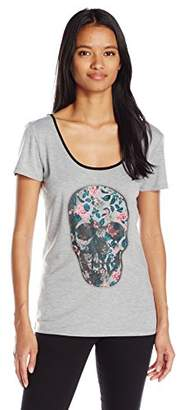 Metal Mulisha Junior's Love for Sale Graphic Tee with Back Strap Detail