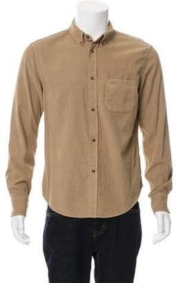Band Of Outsiders Corduroy Button-Up Shirt