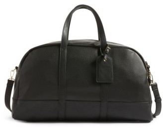 Sole Society Marant Faux Leather Duffle Bag - Black $84.95 thestylecure.com