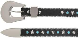 B-Low the Belt 25mm Stars & Studs Leather Belt