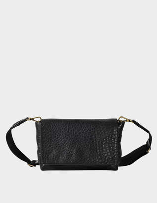 Gerard Darel Chic Bag in Black Lambskin Leather