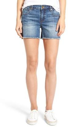 Women's Kut From The Kloth Gidget Denim Shorts $69 thestylecure.com
