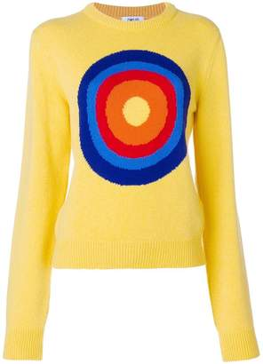 Circled Be Different Sunset jumper