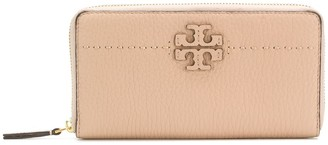 Tory Burch T-logo zip around wallet