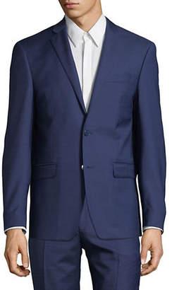 Calvin Klein Slim-Fit Two-Button Wool Jacket
