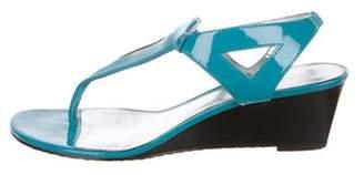 Calvin Klein Slingback Wedge Sandals
