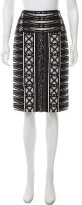 Tory Burch 2015 Woven Skirt