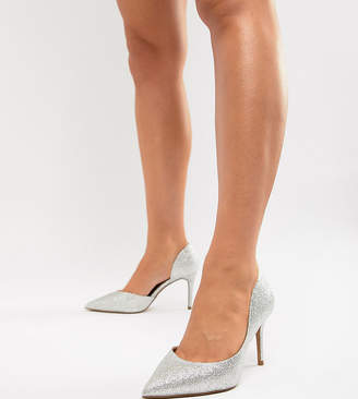 Asos Design Purley Wide Fit High Heels