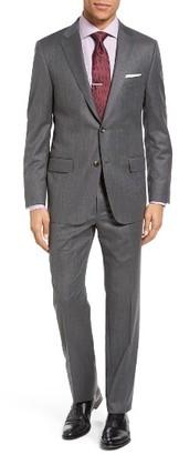 Men's Hickey Freeman Beacon Classic Fit Birdseye Wool Suit $1,695 thestylecure.com