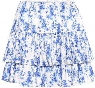 Caroline Constas Anabelle stretch-silk miniskirt