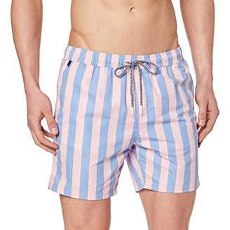90f8902dbd Scotch & Soda Men's Preppy Striped Swimshort Short,Small