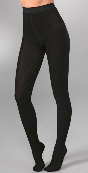 Falke Striggings Label Knit Tights