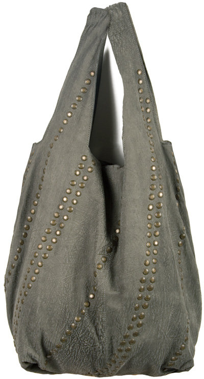 Superfine Oversized Studded Leather Bag