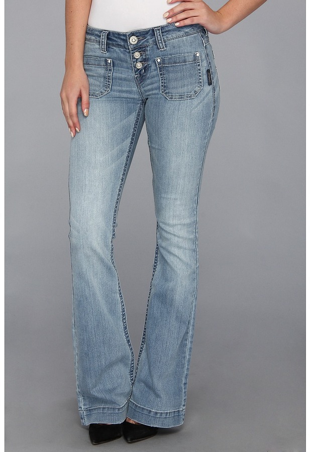 Silver Jeans Co. Manchester Skye in Indigo Women's Jeans
