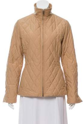 Loro Piana Quilted Zip-Up Jacket