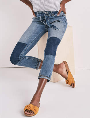 Lucky Brand SIENNA SLIM BOYFRIEND JEAN WITH BELT
