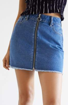PacSun O-Ring Zip Front Skirt