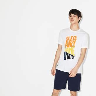 Lacoste Men's SPORT Roland Garros Design T-Shirt