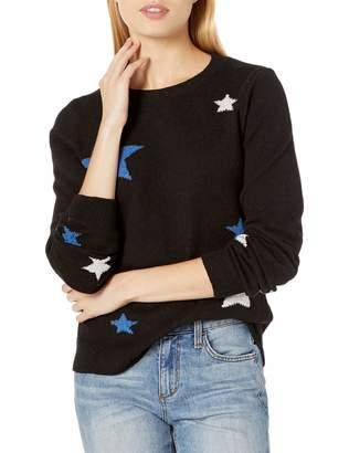 Lucky Brand Women's Star Intarsia Pullover Sweater