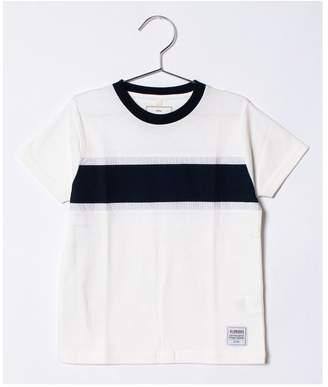 Ikka (イッカ) - ikka kids 【キッズ】胸布帛切り替えTシャツ