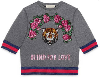 Children's sweatshirt with sequin appliqués $780 thestylecure.com