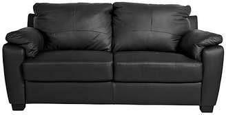 Argos Home Antonio Compact 3 Seater Sofa - Black