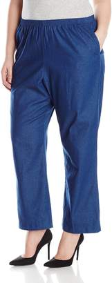 Alfred Dunner Womens Plus Average Jean