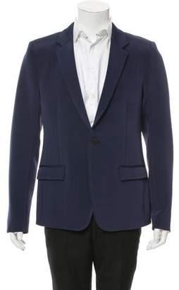 Strateas Carlucci Linen-Blend One-Button Blazer w/ Tags