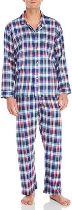 Izod Flannel PJ Set