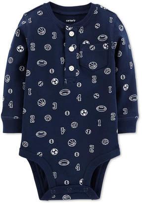 Carter's Baby Boys Sports-Print Cotton Bodysuit