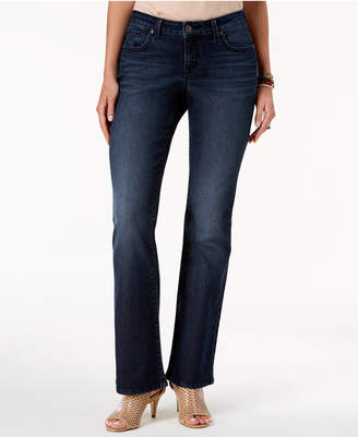 Style&Co. Style & Co Petites Curvy Boot-Cut Jeans