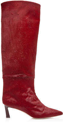 Stuart Weitzman Emiline Pony Hair Boots