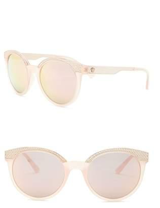 Versace 53mm Round Sunglasses