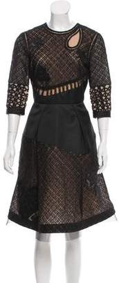 Prabal Gurung Embellished Lace Dress w/ Tags