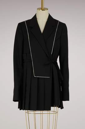 Jil Sander Elton wool and mohair jacket