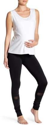 Electric Yoga Mesh Panel Leggings (Maternity)