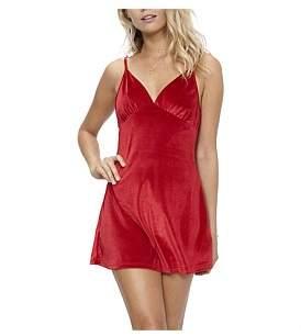 MinkPink First Date Velvet Slip Dress