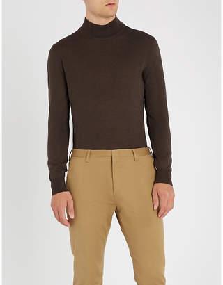 Canali Wool turtleneck jumper