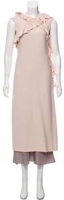 Simone Rocha Sleeveless Midi Dress