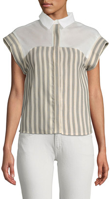 Paul & Joe Sister Santo Boxy Striped Blouse
