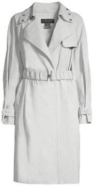 Donna Karan Embellished Trench Coat