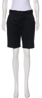 Victoria Beckham Mid-Rise Knee-Length Shorts