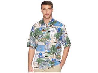 Reyn Spooner Los Angeles Dodgers Classic Fit Hawaiian Shirt