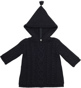 Bonpoint Hooded Cable-Knit Jacket, Size 3-18 Months $280 thestylecure.com