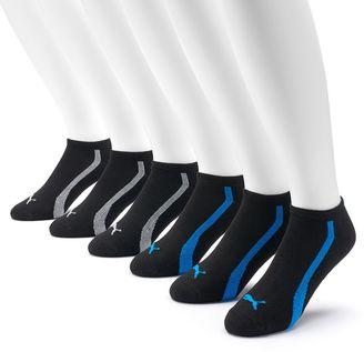 Men's PUMA 6-Pack Low-Cut Socks $18 thestylecure.com