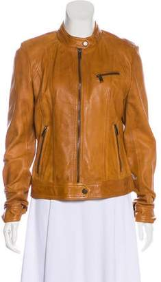 Andrew Marc Leather Casual Jacket