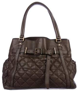 Burberry Quilted Leather Tote