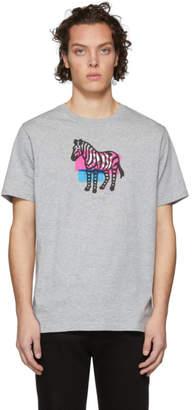 Paul Smith Grey Zebra T-Shirt